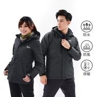 【遊遍天下】GlobeTex防水防風透濕保暖無車縫羽絨機能外套(M-5L)