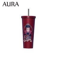 AURA艾樂限定迪士尼反派系列不鏽鋼吸管杯/ 700ml/ 壞皇后/ 紅色 eslite誠品