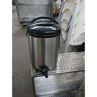 [龍宗清] YEMAN白鐵保溫茶桶 (19080101-0001)不銹鋼保溫茶桶 電熱保溫 飲料桶 泡沫紅茶桶