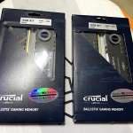 Crucial Ballistix DDR4 3600 RGB 黑色 16GB KIT(8GB X2)行貨