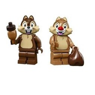 [樂高先生]LEGO 樂高 71024 迪士尼2代人偶包 花栗鼠 奇奇+蒂蒂 兩款合售 下標前請先詢問