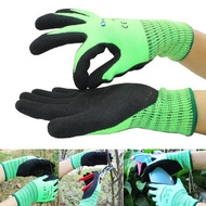 Gardening Outdoor Thickened Warm Gloves Brushed Nitrile Coated Working Labor Protection Glove