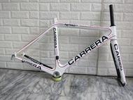 驛站單車 Carrera Nitro SL 碳纖車架 全新碳纖車架組 尺寸:S 全新展示車架 23456帶回家