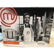 MasterChef 不銹鋼雙柄湯鍋 含蓋