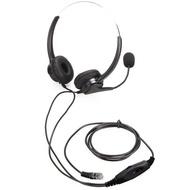 1150元 Aristel電話耳機Headset 安立達 CID70 DKP51W KP70 雙耳專用電話耳機麥克風 含靜音調音功能鍵