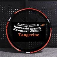 Motorcycle Sticker for z650 Reflective Motor Bike Rim Decal Waterproof Decoration Custom Inner Rim Wheel Stripes