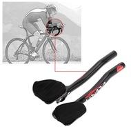 Lixada Carbon Fiber Road Bike Bicycle Aero Bar Rest Handlebar Aerobar 31.8mm