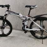 24吋摺疊山地單車