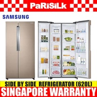 Samsung RS62K61A77P Side By Side Refrigerator (620L) - Singapore Warranty