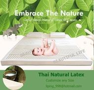 Thai Natural Latex Mattress / Customize Mattress / Pure Latex Mattress / Latex Mattress / Mattress