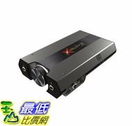 [7美國直購] Sound BlasterX G6 Hi-Res 130dB 32bit/384kHz Gaming DAC, External USB Sound Card with Xamp