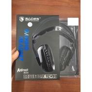 全新公司貨 SADES賽德斯 ANTENNA 阿蒂娜 PLUS SA-919S  7.1聲道 電競 耳麥