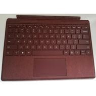 原裝 二手 Microsoft 微軟 Surface Pro 實體鍵盤 保護蓋 酒紅色 適用 3 4 5 6 7 代