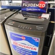Fujidenzo 10.5 kg HD Premium Inverter Fully Automatic Washing Machine IJWA-1050 VT (Titanium Gray)