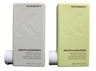 Kevin Murphy Smooth Again Wash and Rinse combo set 250 ml/8.45 Fl Oz Liq. each New Product!