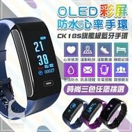 無敵防水智慧手環 CK18S 心率防水手環 支援繁體中文 LINE提醒 來電提醒 多種運動模式