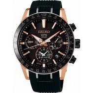 【SEIKO】精工 ASTRON 太陽能GPS鈦金屬錶款 SSH006J1/5X53-0AB0K 玫瑰金 43mm 男錶