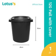 Tesco 12 Gallon Pail With Cover