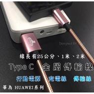 『Type C 金屬充電線』華為 HUAWEI Y9 Prime 2019 傳輸線 快充線 充電線