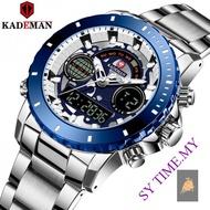 KADEMAN 9102 Men's Watch Outdoor Luminous Sports Steel Watch Men's Watch