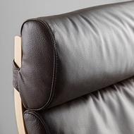 POÄNG 扶手椅椅墊, glose 深棕色