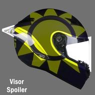 AGV PISTA GP R MRC spoiler visor dgl spoiler lens