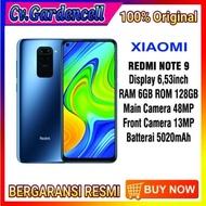 XIAOMI REDMI NOTE 9 RAM 6/128GB GARANSI RESMI