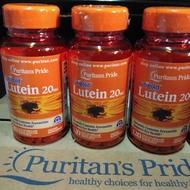 Puritan's Pride Lutein 20mg  普瑞登 葉黃素120顆