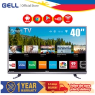 (television)GELL 40 inch Smart TV flat on sale screen tv FHD TV Netflix/Youtube/Android tv Multiport HDMI AV USB GELL 40 inch led promo tv