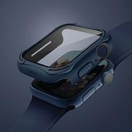 領券最高折800↘UNIQ|Torres Apple Watch 全包覆9H鋼化玻璃抗菌錶殼