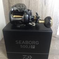 【平昇釣具】DAIWA 19 SEABORG 500JP / 500JS 電捲線器 全新 現貨