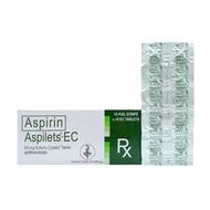 Rx: Aspilets - EC 80 mg Tablet
