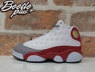 中童 BEETLE NIKE AIR JORDAN 13 RETRO BR 白紅 灰 復古 籃球鞋 414575-126 D-602 16.5 17.5 CM