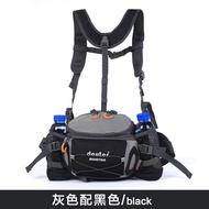 ✼✾運動腰包戶外男多功能騎行背包防水雙肩旅游女大容量水壺腰包登山