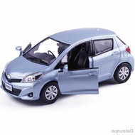 ┅現貨金屬合金Toyota YARIS 豐田雅力士合金汽車模型玩具回力5寸車