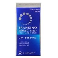 現貨 新版 第一三共 TRANSINO White C clear 120錠