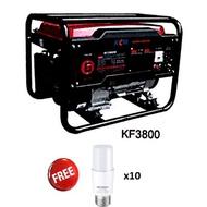 KCM Gasoline / Petrol Generator - KF3800 - 4 Stoke Engine