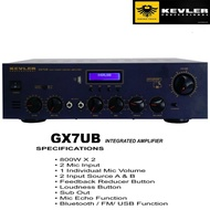 Kevler GX-7UB Professional Amplifier 800W