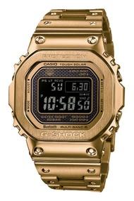 Casio G-Shock นาฬิกาข้อมือผู้ชาย สายสเตนเลสสตีล รุ่น GMW-B5000GD-9 - สีทอง