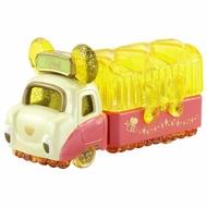 【領券折$120】小禮堂 迪士尼 小熊維尼 TOMICA小汽車水晶卡車《黃紅》珠寶車.公仔.玩具.模型