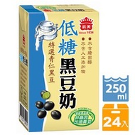 義美 低糖黑豆奶 250ml(24入x2箱)