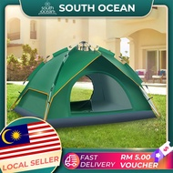 Automatic Pop Up Outdoor Family Camping Tent 3-4 Person Multiple Models Easy Open Camp Tents Ultralight Instant
