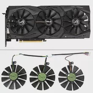 Fan Graphic-Card RTX2060 ASUS Cooling-Fan 12V for ROG-STRIX-RTX 2070-o8g-gaming/Rtx2060/O6g/Graphic-card