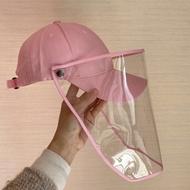 Joylife หมวกแก้ป หมวกแฟชั่น หมวกกันแดด ฟรี หน้ากากพลาสติกเฟสชิว หมวกแก๊ป Fashion Cap with Face Shield