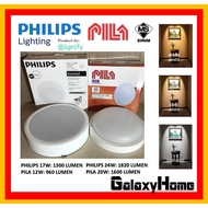 "led downlight. 🌟CONCRETE CEILINGS🌟 PHILIPS MESON [24w 9''] [17w  7""] PILA [12W 6""] [20W 8""] SURFACE LED DOWNLIGHT 5947"