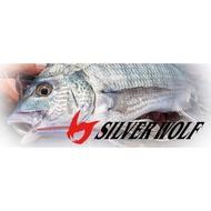 DAIWA SILVER WOLF銀狼並繼路亞竿/黑鯛竿/多節旅行竿 規格:76ML-S-4(319515)【百有釣具】