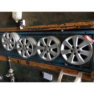 可單賣 TOYOTA豐田 原廠 15吋鋁圈 5孔100 NEW ALTIS原廠 WISH PREMIO EXSIOR