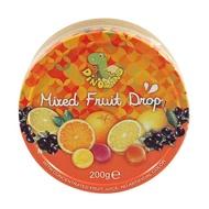 德國Dinoland迪諾恐龍家族綜合水果味糖果粒 200g(效期:2020年3月28號)市價135特價49元
