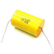 8uF 250V 無極性電容 臥式電容 黃色電容 油質電容