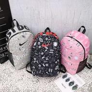 Nike กระเป๋าเป้สะพายหลัง กระเป๋าเดินทางท่องเที่ยวสปอร์ต กระเป๋าเป้สะพายหลังนักเรียน bags